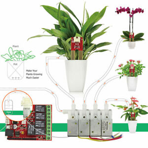 Automatic Smart Plant Watering Pump Soil Moisture Kit Arduino Electronic Diy