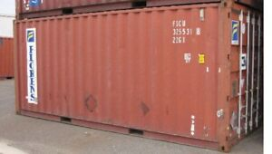 20 Standard Shipping Container Sale In Detroit Michigan