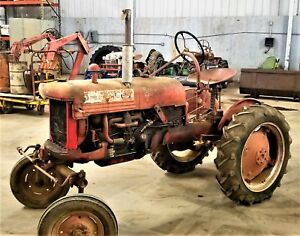 1949 Farmall Cub Ie International Harvester Mccormick With Belly Mower