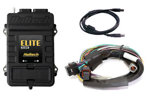 Haltech Elite 1500 Ecu 8ft Long Basic Wiring Harness Kit 3 Bar Internal Map