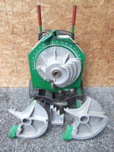 Greenlee 555 Conduit Bender With Shoes And Roller Supports For 1 2 2 Emt