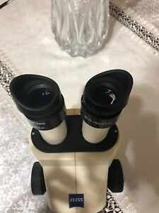 Carl Zeiss Stemi 2000 Microscope In A Great Condition