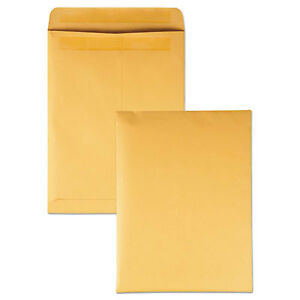 Redi Seal Catalog Envelope 9 X 12 Brown Kraft 250 box 43562