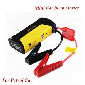 Jump Starter Car Battery Charger Portable Mini Jumper Booster Power