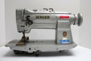 Singer 212w140 Needle Feed 2 needle 1 2 Gauge Industrial Sewing Machine Head