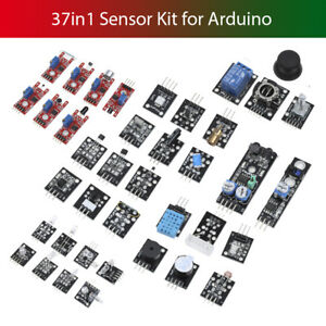 37 In 1 Box Sensor Kit Module Starter Suite For Arduino Mcu Raspberry Pi Buzzer