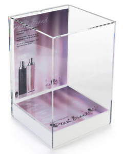 Retail Store Acrylic Countertop Display Case W 8 5 X 11 Advertising Sign Holder