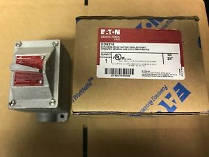 Cooper Crouse hinds Eds218 Explosion proof General Purpose Switch