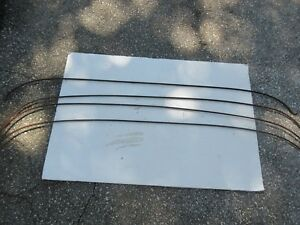 1949 Kaiser Frazer Car Headliner Bows Roof Top Retainer Retaining Rods Bows