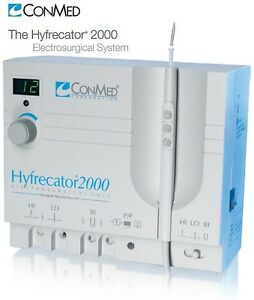 New Conmed Hyfrecator 2000 Electrosurgical Unit Dessicator 230v 7 900 230