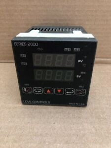 Love Controls Temperature Controller Model 26133 Series 2600 Indoor b 15