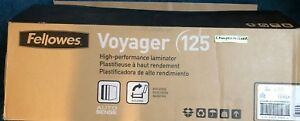 Fellowes Voyager Vy 125 Laminator New In Box 12 Wide X 10mil Auto Sense