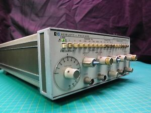 Agilent Hp 3312a 13 Mhz Function Generator Working 1432a089331 Hewlett Packard