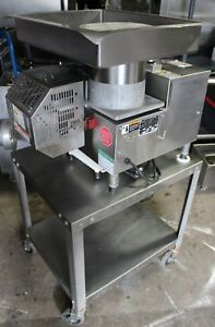 Patty o matic Model 330a Hamburger Patty Maker Machine With Table Sn 3764
