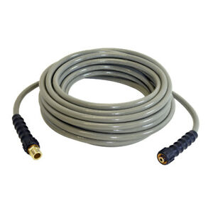 3700 Psi Cold Water 50 Pressure Washer Morflex Hose 5 16 With Adapter
