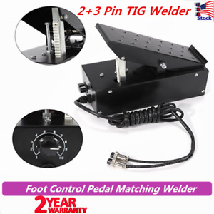 Foot Control Pedal Control Switch 2 3 Pins Tig Matching Welder Power Equipment