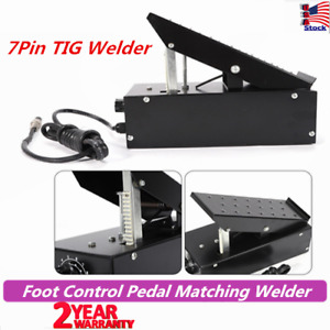 Foot Control Pedal Welding Switch 7 Pins Matching Welder Power Equipment Machine