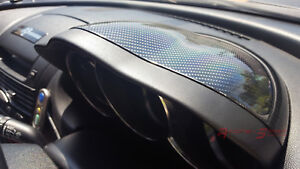 Real 3d Glossy Carbon Fiber Dials Dash Cover Cap For Rhd Mazda Rx8 Mazdaspeed