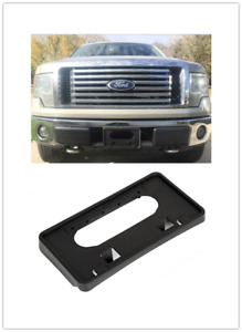 Front Bumper License Plate Holder Backing Mounting Bracket For Ford F150 Ld