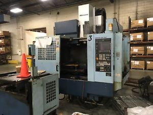 Matsuura Es 800v Pc2 Cnc Vert Machining Center 3 axis 07 G tech 840 Di Control