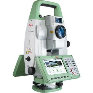New Leica Viva Ts16r500 P 5 Total Station For Surveying 1 Month Warranty