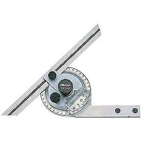 reduced Mitutoyo 187 904 Universal Bevel Protractor With 6 Blade