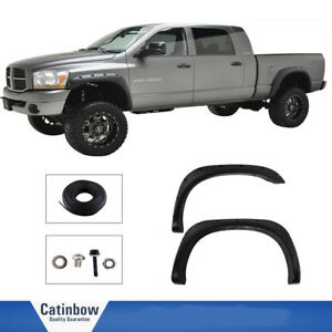 Fender Flares Pocket Rivet Style For Dodge Ram 1500 02 08 Ram 2500 3500 03 09