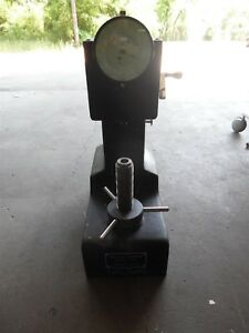 Rockwell Testing Service Diamond Hardness Tester Model 8blp