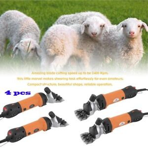4x 650w Sheep Shears Goat Clippers Animal Shave Grooming Farm Supplies Livestock