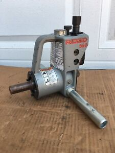 Ridgid 960 Roll Groover Compact 1 1 4 To 6 Copper Pipe Vic Grooving
