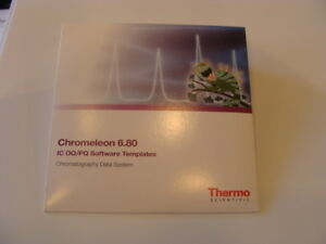 New Sealed Thermo Fisher Chromeleon 6 80 Chromatography Data System pn 075433