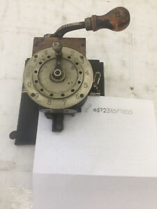 Antique Abbott Check Perforator Writer Protector Punch Patented 1889