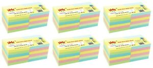 4a Sticky Pop up Notes 3 X 3 Office Supplies Pastel Assorted Total 7200 Sheets