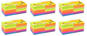 4a Sticky Notes 3 X 3 Planner Notes Pads Neon Assorted 72 Pads Total 7200 Sheets