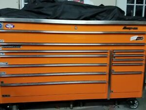 Snap On Triple Bank Toolbox With Stainless Steel Top
