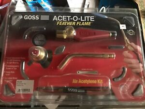 Feather Flame Air acetylene Torch Outfits 1 4 Acetylene b Soldering Brazing