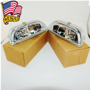 Usa Clear Front Bumper Driving Fog Light For 2001 02 Toyota Corolla 8122002030