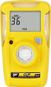 Bw Technologies Bwc3 h Bw Clip Single Gas H2s Monitor 10 15