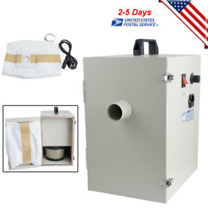 Dental Lab Vacuum Cleaner Dust Collector Collecting 1200w 20 18kpa Suction 110v
