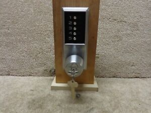 Old Style Kaba Simplex 1021 Pushbutton Lock Over Ride Core Installed W keys