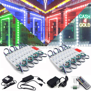 Rgb Led Module Light Dc 12v 5050 Smd 3 led Waterproof Superbright Lighting Lamp
