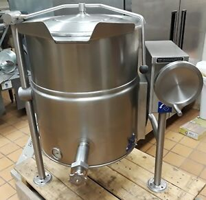 Cleveland 25 Gallon Steam Kettle tilt Drain Kel 25t