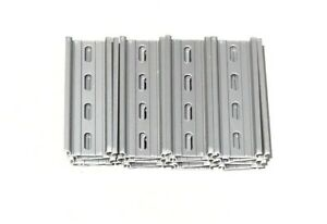 20 Pieces Din Rail Slotted Aluminum Rohs 4 Inches Long 35mm 7 5mm 6 7 Feet Total