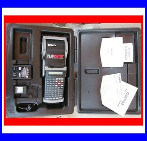 Brady Tls2200 Label Marker Labeler W Battery Charger And Labels Complete