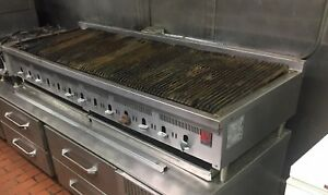 Wolf Range Co 60 Charboiler Grill