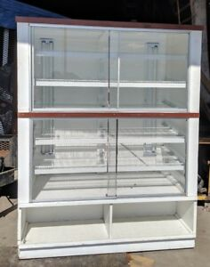 Bakery Display Case Front Door Donuts Pastry Hotel Store Coffee Shop 5 Foot Wide