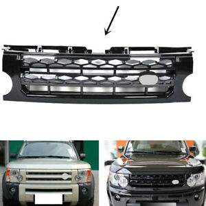 For Land Rover Discovery Lr3 2005 2009 Black Front Grille Replace Trim