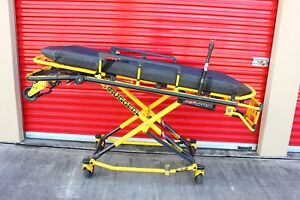 Stryker Mx pro 600lb Iv Pole Ambulance Stretcher Gurney Cot Mx Pro Power Pro Xt