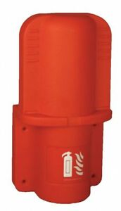 Jonesco Fire Extinguisher Cabinet 5 Lb Red Jfex03
