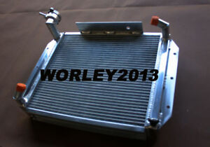 3 Rows Crossflow Aluminum Radiator For Mg Mga 1500 1600 1622 De Luxe 55 62 Mt